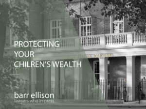 Protecting Wealth GUIDE: Passed to Family Members